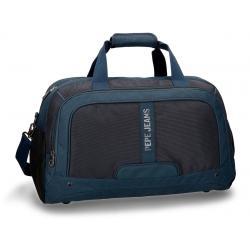 Bolsa de viaje Pepe Jeans 50x27x27 cm de Poliéster Greenwich Azul
