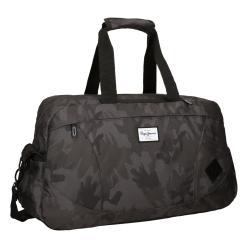 Bolsa de viaje 51x22x30 cm de Nailon Pepe Jeans Camu