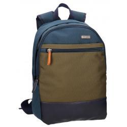 Mochila para portátil Pepe Jeans 45x32x15cm de Poliéster Mixed adaptable a maleta