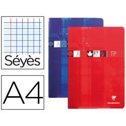 Libreta Clairefontaine Tapa de Carton Plastificada 40 hojas DIN A4 Colores Surtidos