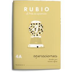 Cuaderno Rubio Operaciones nº 4 A Dividir por varias cifras