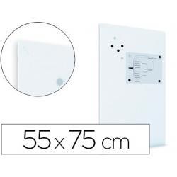 Pizarra Blanca lacada Rocada Mural Magnética sin marco 55x75 cm