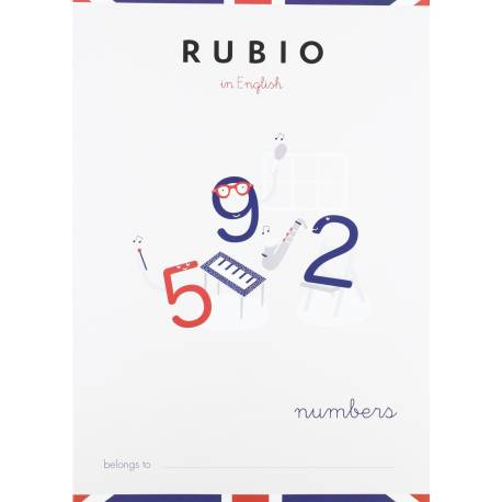 Cuaderno Rubio in English Numbers