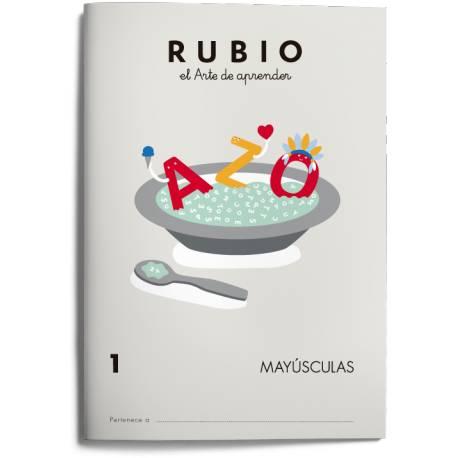 Cuaderno Rubio Mayúsculas nº 1