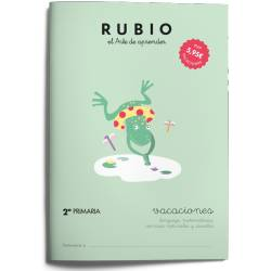 Cuaderno Rubio Vacaciones 2º Primaria