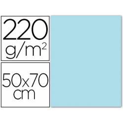 Cartulina Lisa y Rugosa Liderpapel Azul cielo 50x70 cm 220 gr