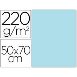 Cartulina Liderpapel Azul cielo 50x70 cm 220 gr Lisa/Rugosa
