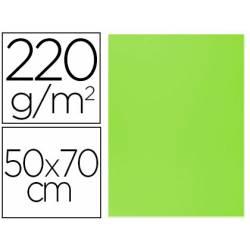 Cartulina Lisa y Rugosa Liderpapel Verde 50x70 cm 220 gr