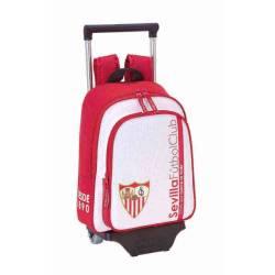 Mochila Escolar Sevilla F.C 34x27x10 cm con Ruedas
