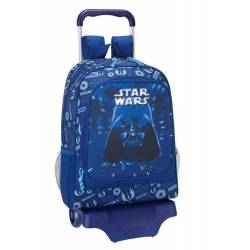 Mochila escolar Star Wars 43X33X15 cm Neon con Ruedas