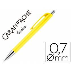 Portaminas Caran D´ache 888 trazo 0,7mm infinite color amarillo