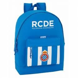 Mochila Escolar del R.C.D Español 43x32,5x15 cm 1 Equipación 17/18