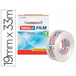 CINTA ADHESIVA TESA FILM CRISTAL 33 MT X 19 MM