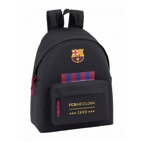 Mochila escolar F.C. Barcelona 42x33x15 cm Negro