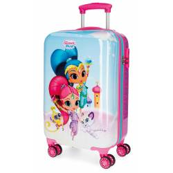 Maleta de Cabina de 55x34x20 cm Rigida Shimmer and Shine Twinsies