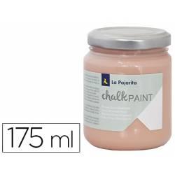 Pintura Acrilica La Pajarita Efecto Tiza Color Peach 175 ml Chalk Paint