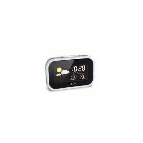 Reloj Despertador Orium Digital con estación meteorológica