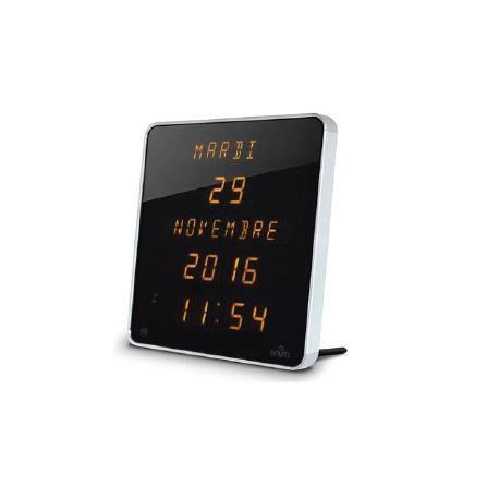 Reloj Pared Orium Digital Aluminio Con Batería y Pila