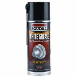 Aceite Lubricante Grasa Blanca Soudal Spray de 400 ml