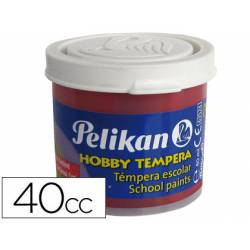 Tempera Pelikan color carmin 40 cc
