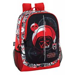 Mochila Escolar Star Wars 44x32x16 cm Poliéster Galactic Mission Adaptable a carro