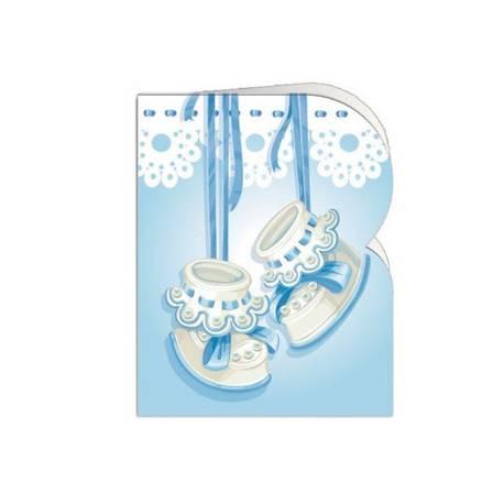 Etiqueta para regalo Arguval Troquelada Paquete de 90 unidades Bebe Modelo 2