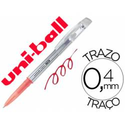 Bolígrafo Borrable roller gel UF-220 color rojo 0,4 mm